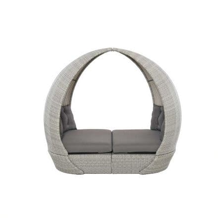 Maze Rattan  Ascot Daybed - Grey