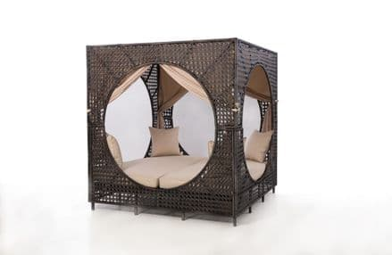 Maze Rattan - Bali Daybed - Brown