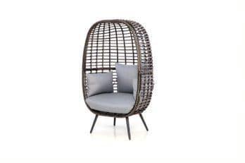 Maze Rattan Riviera Chair - Grey