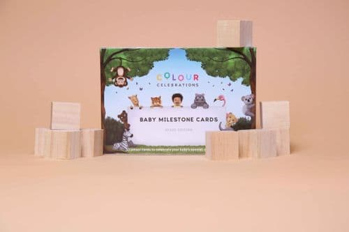 Colour Celebrations - Baby Milestone Cards