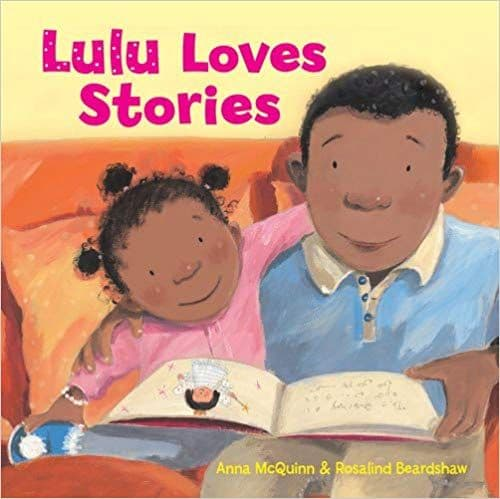 Lulu loves stories by Anna McQuinn