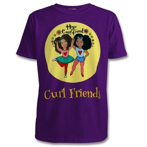 Mixed Up Mama - Curl Friends T-shirt