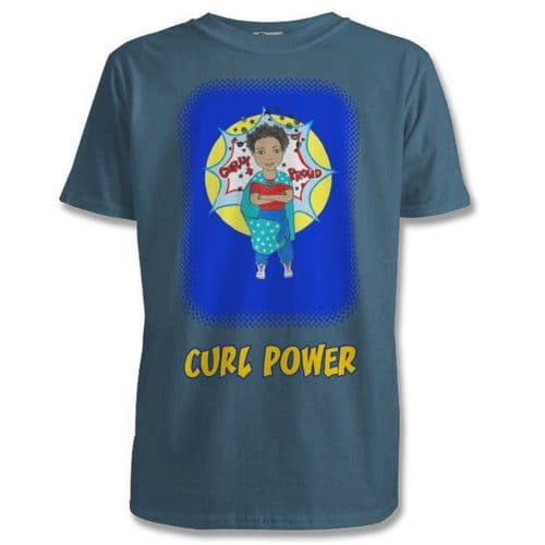 Mixed Up Mama - Curl Power Boy-T-shirt