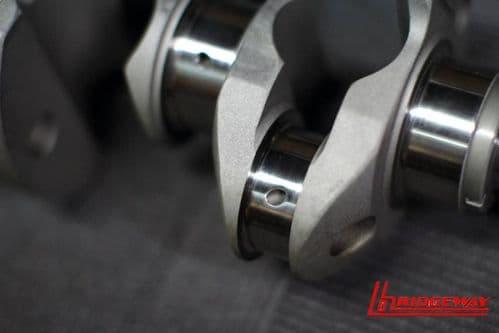 4340 crank Subaru EZ30 87mm stroke with balance report wider weights