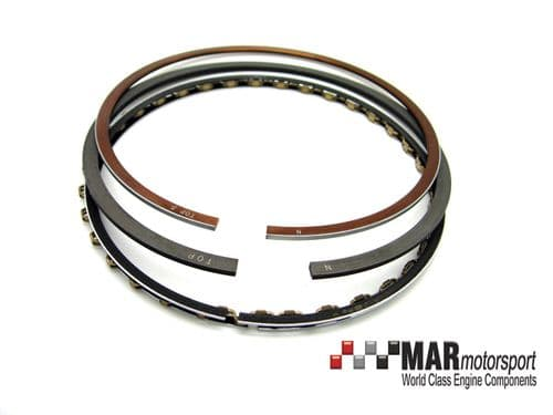 Cosworth YB Piston Rings UPGRADE from MAHLE, NPR STEEL - 1 piston set 90.83mm