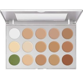 KRYOLAN ULTRA FOUNDATION PALETTE 15 COLOURS