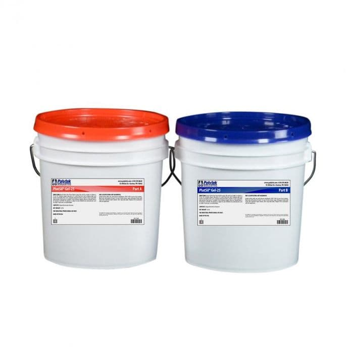 Buy PlatSil Gel 25 Silicone Rubber | PS Composites