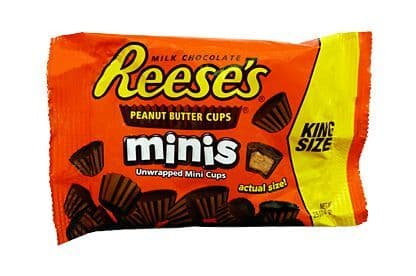 Reese's Mini Peanut Butter Cups (king size bag