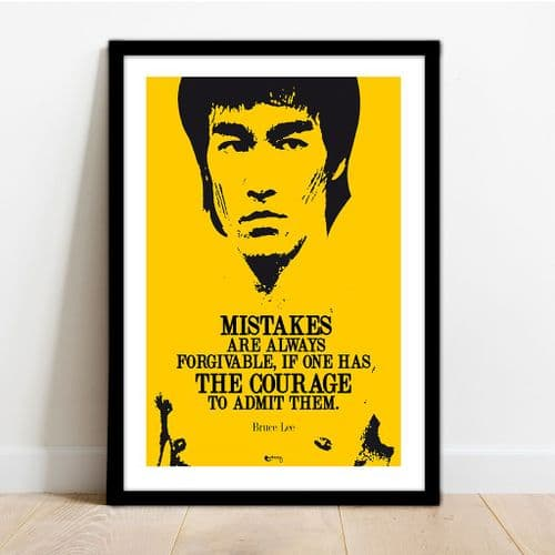 BRUCE LEE - COURAGE!