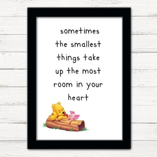 WINNIE THE POOH - SMALLEST THINGS!